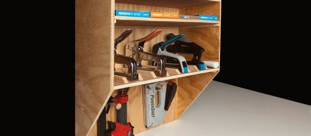 Easy step-by-step instructions for a DIY tool organizer for the special dad in your life